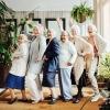 La importancia de la vida social de los mayores